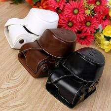 Stylish PU leather Camera Bag Case Cover Pouch For Sony A5000 A5100 NEX 3N