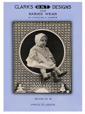 Clark's ONT #8 c.1920 - Vintage Patterns for Babies' Wear in Crochet & Knitting