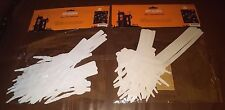 White Skeleton Hands Halloween Wall Decorations - Set of 28