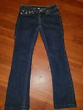 TRUE RELIGION BOOT CUT JEANS SIZE 27 ladies great condition 331-047340