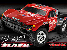 Traxxas 1/10th Slash 2WD VXL Brushless with TSM #9 Chad Hord 58076-3