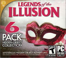 RUNAWAY EXPRESS MYSTERY Hidden Object LEGENDS OF THE ILLUSION 6 PACK PC Game NEW