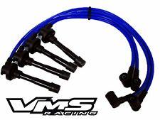 92-01 HONDA PRELUDE H22 VTEC ENGINE 10.2MM RACING SPARK PLUG WIRES SET KIT BLUE