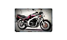 1991 gs400e Bike Motorcycle A4 Photo Poster