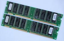1GB (2 X 512MB) PC133 NON ECC 168 pin 3.3V Low Density 16 chips SDRAM