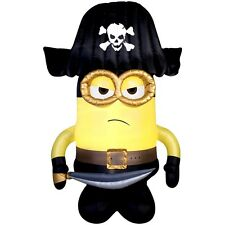 HALLOWEEN DESPICABLE ME MINION PIRATE 9 FT AIRBLOWN INFLATABLE YARD DECORATION