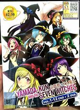 Yamada-kun and the Seven Witches (Chapter 1 - 12 End + 2 OVA) ~ 2-DVD ~ Eng Sub
