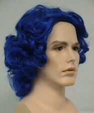 HANK WIG BLUE ADULT MENS BEAST X-MEN 3 MCCOY SUPERHERO COMIC COSTUME WIG 4047