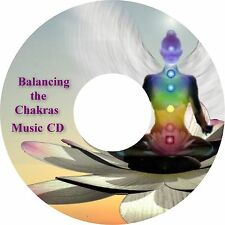 Balancing The Chakras Music CD Relaxation Meditation Stress Relief Sleep Aid