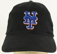 NY New York Giants Black Baseball Hat Cap with Cloth Strap Adjust