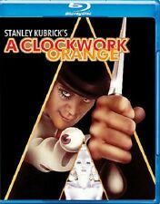 A CLOCKWORK ORANGE NEW BLU RAY DISC MOVIE FILM MALCOLM MCDOWELL STANLEY KUBRICK