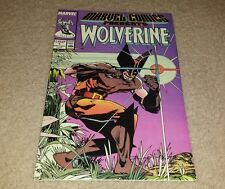 Awesome Marvel Comics Present Wolverine #1 comic book Man-Thing Silver Surfer