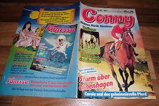 CONNY  # 431 -- MÄDCHEN - PFERDE - ABENTEUER  // mit Poster 1. Auflage 1.1.1988