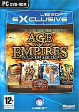 Age of Empires - Collectors Edition For PC (New & Sealed)