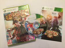 XBOX 360 GAME BIOSHOCK INFINITE + BOX & INSTRUCTIONS / COMPLETE PAL GWO