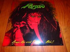 Poison - Open Up and Say...Ahh! vinyl LP record sealed NEW RARE