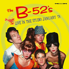 THE B-52'S - Live In The Studio January '78. New CD + sealed ** NEW **