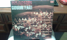 LP GIOVANNI FENATI MUSIC IN PARADISE