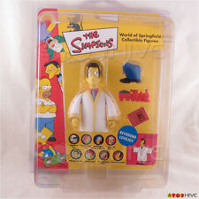 The Simpsons UK exclusive Reverend Lovejoy action figure Vivid logo ProTech case