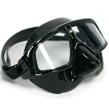 AquaLung AquaSphere Sphera Black Silicone Frame Scuba Diving Swim Swimming Mask