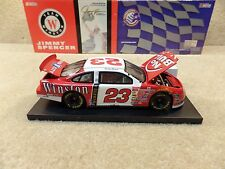 New 1999 Action 1:24 Diecast NASCAR Jimmy Spencer Winston No Bull Red Taurus #23