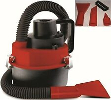 Hand Held Turbo WET & DRY Vac Car Truck Vacuum W/ 12V Car Adapter