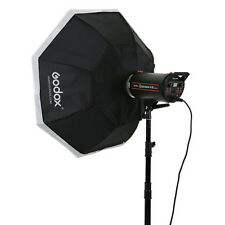 "Godox 140cm 55"" Octagon Softbox + Bowens Mount for Studio Strobe Light uk seller"