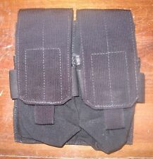 Eagle industries 7.62 M14 double mag pouch molle pocket black 308 holds 4 SEAL