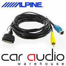 CT29IP25 Alpine KCE-422I Car Stereo Replacement iPod iPhone Adapter RCA Cable