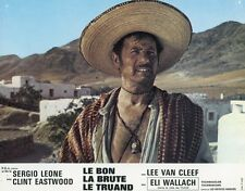 ELI WALLACH THE GOOD, THE BAD AND THE UGLY 1966 VINTAGE LOBBY CARD ORIGINAL #5