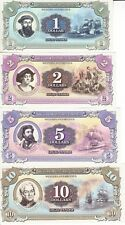 LOT 5 SETS Marie Byrd Land (Antarctica) set 7 banknotes 2014 UNC (private issue)