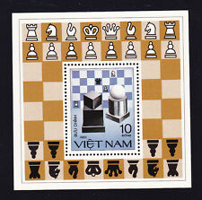 VIETNAM 1983 SC # 1297 THE CHESS PIECES  S/S MNH..  .