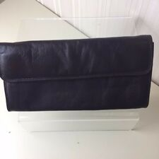 Tula Small Brown Leather Clutch Bag. VGC. Perfect for Autumn/Winter