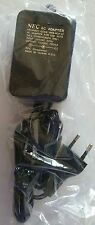 NEW OEM Official NEC Ac Adapter 220V FOR PAL TURBO GRAFX 16 System HES-ACA-12