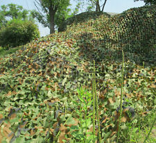 2M X 4M Military Camouflage Net Woodlands Leaves Camo Cover For Camping Hunting