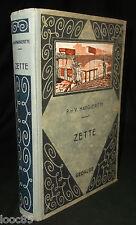 Zette - P. & V. Margueritte - 1939 - illustrations P. Rousseau - enfantina
