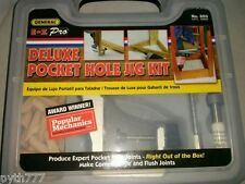 EZ Pro Deluxe Pocket Hole Jig with Extra 200pcs Course Screws