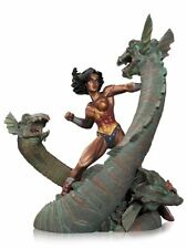 """DC COLLECTIBLES Wonder Woman vs Hydra MiniPatina STATUE, 7.5"""" Tall ACTION FIGURE"""