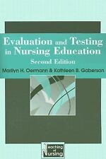 Evaluation And Testing in Nursing Education (Springer Series on the Teaching of