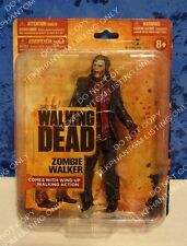 Walking Dead TV Series 1 Action Figure Small Card Zombie Walker 8+ Mcfarlane HTF