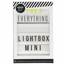 *SALE* Heidi Swapp Lightbox Mini Kit- Baby Photography Wedding Party props Sign