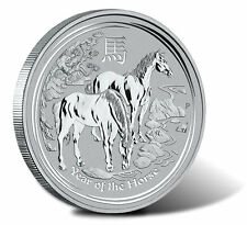 2014 Australia Lunar Year of Horse 1 oz .999 Silver Bullion Coin