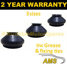 UNIVERSAL BALL JOINT TRACK ROD END RUBBER DUST COVER KIT + GREASE FITS ALL CARS