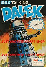 Dr Who Dalek Vintage Poster A4 Size Leaflet Advert Shop Display Sign 1975