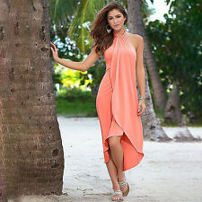Womens Summer Boho Long Maxi Dress Evening Cocktail Party Casual Beach Sundress
