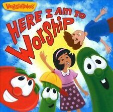 VEGGIETALES-HERE I AM TO WORSHIP CD NEW
