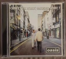 Oasis. (What's The Story) Morning Glory? 1995 CD. Sony Music.