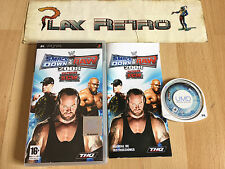PSP SMACKDOWN VS RAW 2008 COMPLETO PAL ESPAÑA