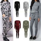 Ladies Womens casual leisure LOUNGE WEAR set JOGGERS tracksuit PLUS SIZE lot f12