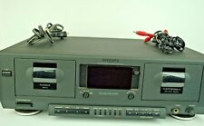 Philips FC910 Dolby NR Double Cassette Deck